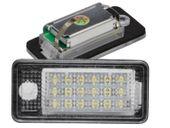 LAMPKI LED PODŚWIETLENIE TABLICY REJESTRACJI AUDI A3 A4 B6 B7 A6 C6 Q7 zdjęcie 9