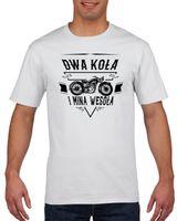 Koszulka męska MOTOCYKL DWA KOLA I MINA WESOL L
