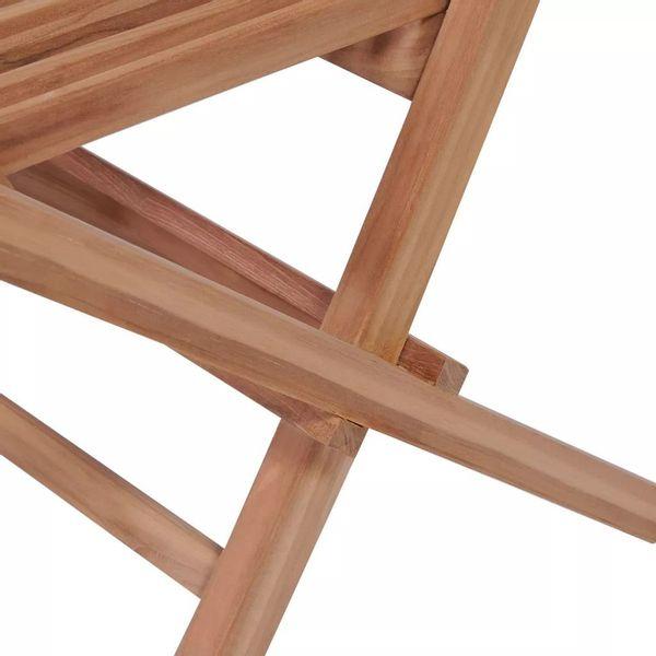 Meble Ogrodowe Stolik Stół 2 Krzesła Drewniane Zestaw Składane