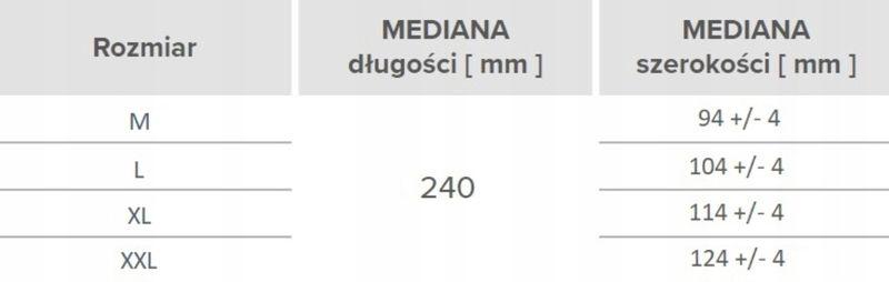 Rękawice lateksowe pudrowane MERCATOR® simple latex XL 100 szt na Arena.pl
