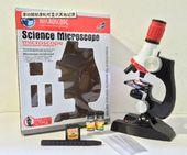 Mikroskop Naukowy dla dziecka akcesoria szkiełka