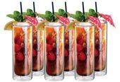 Szklanki Termiczne z Podwójną Ścianką do Mojito Napojów Soków Drinków
