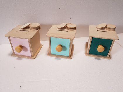 Pudełko z Żetonami Montessori