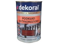 Podkład antykorozyjny Dekoral (Czerwony tlen, 0.9 L)