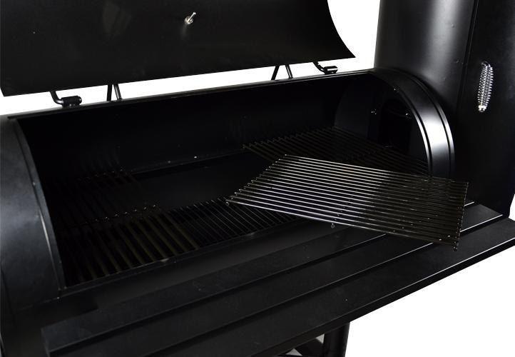 Grill ogrodowy XXL BBQ, wędzarnia, grill z wędzarnią zdjęcie 6