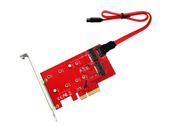 KONWERTER NGFF M.2 B + M klucz SSD do PCI-E 4X