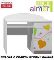 KOLOROWE SERCA 1 - NB10 biurko dziecięce 100x50 w.74