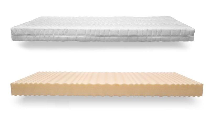 materac wysokoelastyczny stella flex 16cm rozmiar 90x200 twardo materaca h4 materace. Black Bedroom Furniture Sets. Home Design Ideas