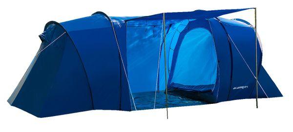 Rodzinny namiot 4-osobowy LOFOT niebieski