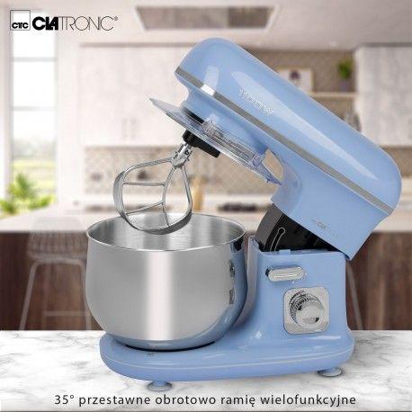 Robot kuchenny, mikser planetarny Clatronic KM 3711 (niebieski) na Arena.pl