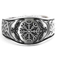 Sygnet nordycki pierścień helm of ave feniks