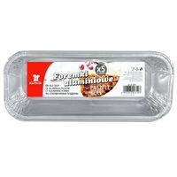 Foremka aluminiowa Kuchcik Pasztet/Keks, 5 sztuk, 4+1