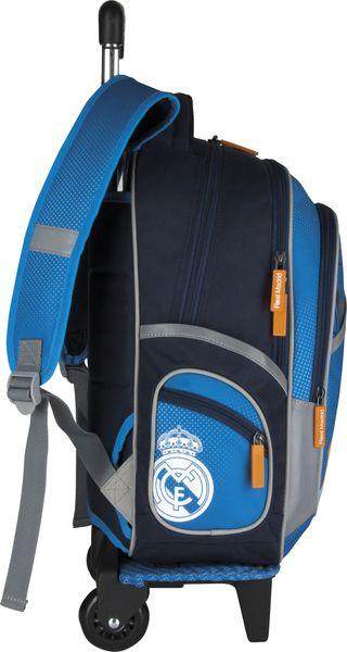 Plecak szkolny na kółkach Real Madyt RM-31 zdjęcie 3