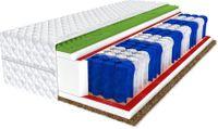 Materac 80x160 pocket kokos AMOR Wysokość 17 cm