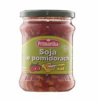Soja w sosie pomidorowym 440 g Primavika