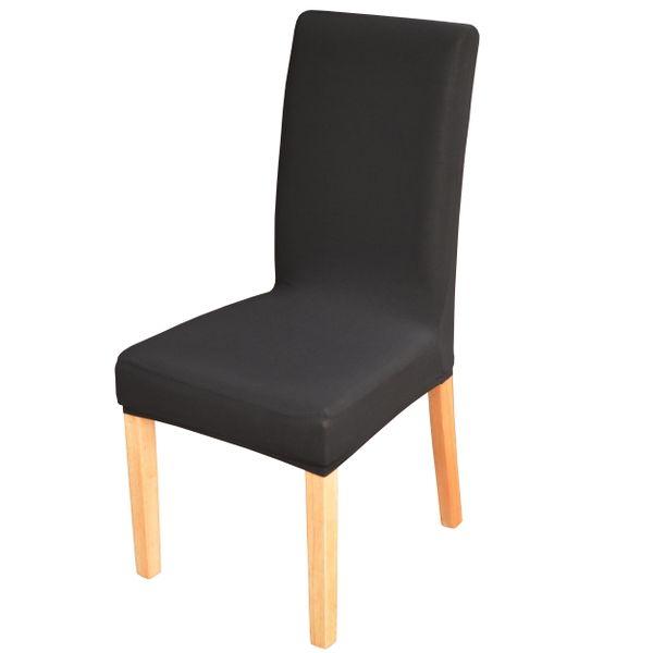 Elastyczny pokrowiec na krzesło spandex, kolor czarny na Arena.pl