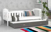 Łóżko wysuwane KUBUŚ P2 COLOR 198x86 szuflada + materace