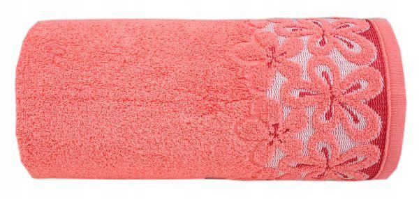 Ręcznik Bella 70x140 Koral Bawełna Greno