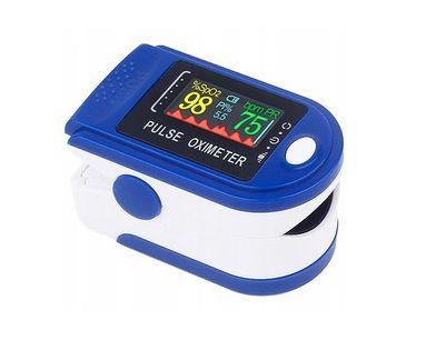 Medyczny PULSOKSYMETR napalcowy AB-88 mierzy natlenienie krwi COVID-19