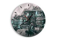 Zegar Ścienny - Samochód Retro  - 40X40 Cm - C3Ar40X40-3834