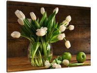 Obraz Kremowe tulipany 100x70 POLSKI