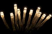Lampki choinkowe 200 LED na łańcuchu JoyLight białe ciepłe z