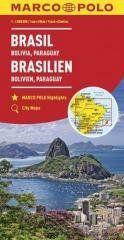 Mapy kontynentalne Brazylia...1:4 mil. MARCO POLO praca zbiorowa