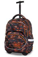 Plecak młodzieżowy na kółkach CoolPack Starr Orango B35098