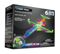 Laser Pegs Świecące Klocki 6W1 Executive Jet Samolot Zd140B
