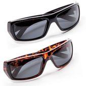 Zestaw okularów Polaryte czarne i brązowe