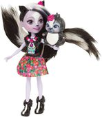 Enchantimals Sage Skunk Lalka + zwierzaczek skunks Mattel DYC75 DVH87 zdjęcie 6