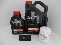 MOTUL SPECIFIC 5W20 6L +FILTR OLEJU MUSTANG 3.7 V6