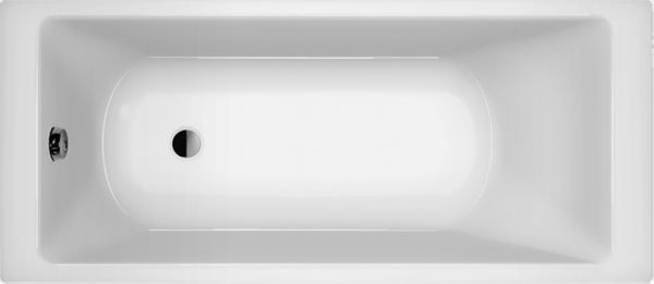 Wanna akrylowa prostokątna 70x140 zestaw syfon nogi POLSKA