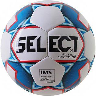 Piłka nożna Select Futsal Speed DB Hala biało-niebieska 14845
