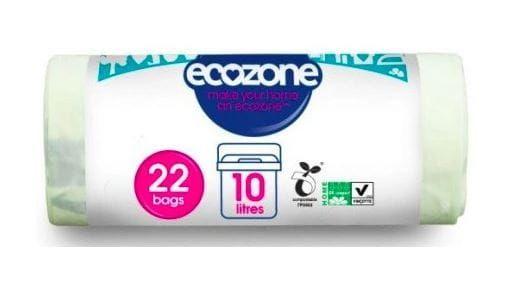 Worki na odpady 10l biodegradowalne i kompostowalne Ecozone