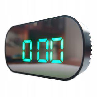 Elektroniczny budzik Zegarek z alarmem temp LUSTRO