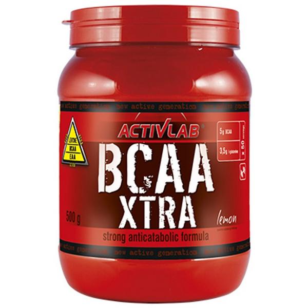 Activlab BCAA Xtra - 500g Smak - Truskawka zdjęcie 1