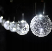 LAMPKA SOLARNA OGRODOWA WISZĄCA LED zdjęcie 3