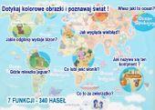 Mapa świata - edukacyjny tablet dla dzieci – język polski zdjęcie 4