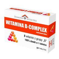 Domowa Apteczka Witamina B Complex 50 tabletek - Długi termin ważności!