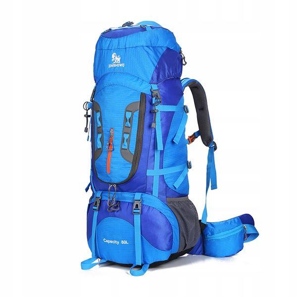 Plecak turystyczny/sportowy wodoodporny-Niebieski zdjęcie 1