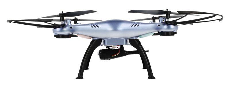 Dron Syma X5HW kamera Wi-Fi funkcja zawisu Niebieski Y142N zdjęcie 4