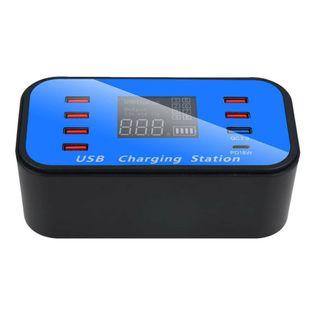 Stacja ładowania 8x USB / QC 3.0 / Type-C - ładowarka