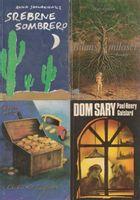 Zestaw 4 książek Dom Sary, Bilans miłości, Srebrne sombrero, Ci co się bogacą Berta Ruck, Anna Słowakiewicz, Mary Gordon, Paul Henry Goislard