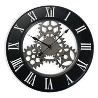 Zegar Ścienny Drewno MDF/Metal (4,5 x 63 x 63 cm)