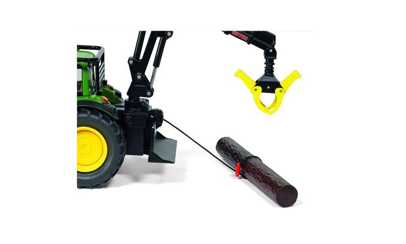 Siku Traktor leśny John Deere zdjęcie 7