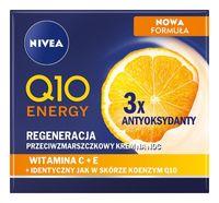 Nivea Q10 Energy Regeneracja Przeciwzmarszczkowy Krem Na Noc 50Ml