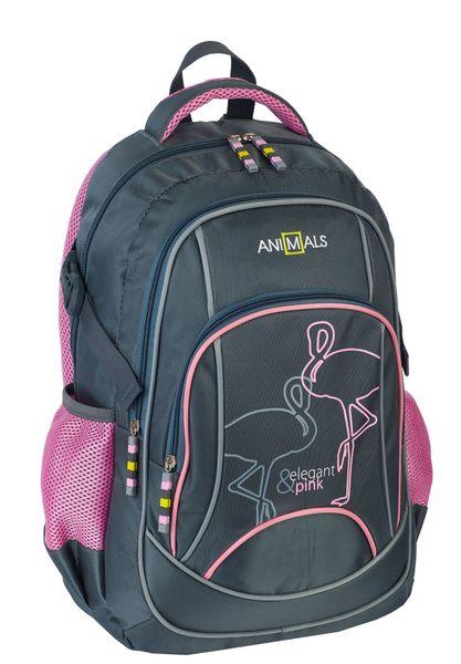 Animals Plecak szkolny młodzieżowy Elegant&Pink zestaw zdjęcie 4