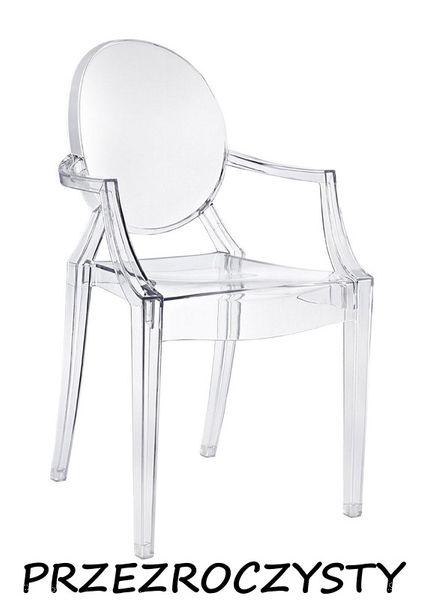Krzesło Dankor Design Louis Ghost przezroczysty zdjęcie 1