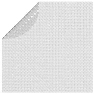 Lumarko Pływająca folia solarna z PE, 381 cm, szara!